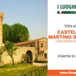 Castello di San Martino della Vaneza fra i Luoghi del Cuore.